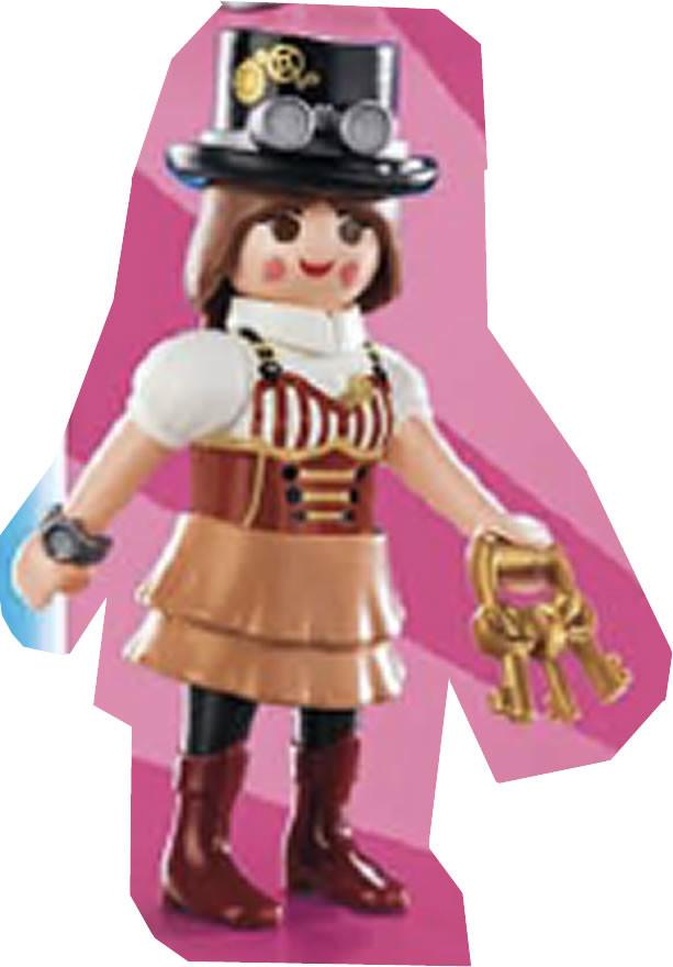 Playmobil 70160v9 - fille steampunk - Box