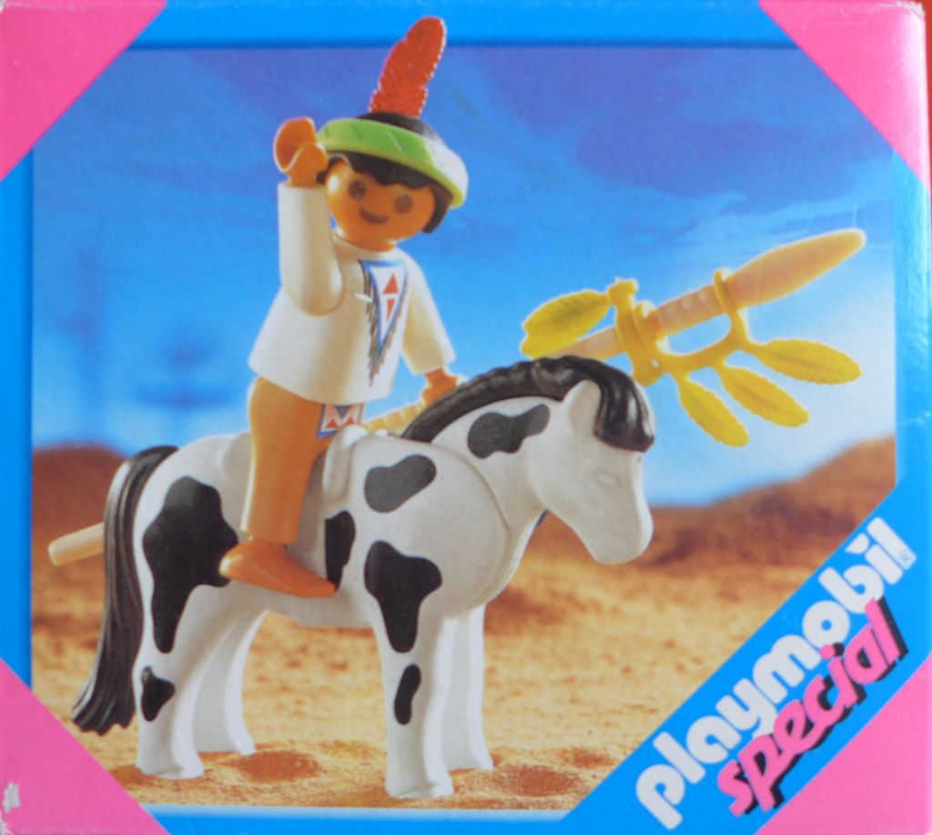 Playmobil 4629 - Indian Child with Pony - Box