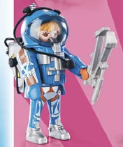 Playmobil - 70160v5 - Astronaut woman