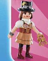 Playmobil - 70160v9 - fille steampunk