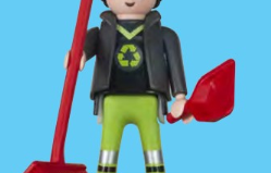 Playmobil - 30792504 - Garbage collector
