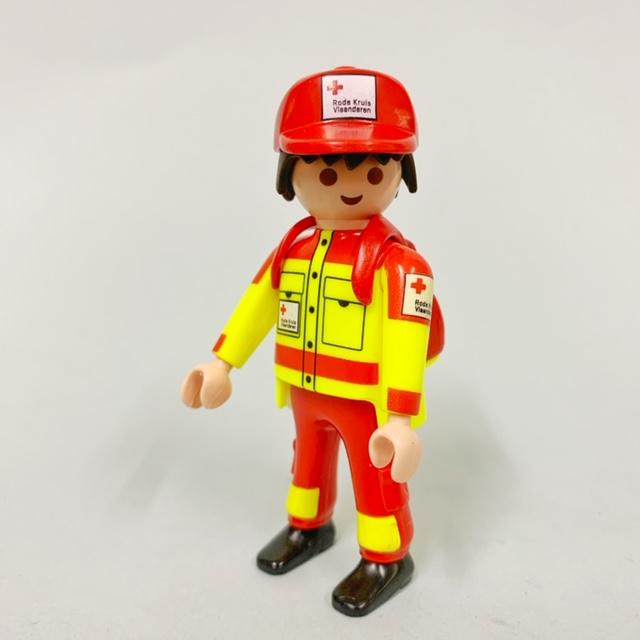 Playmobil 9545 - Red Cross of Flanders - Back
