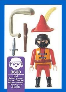 Playmobil 3633 - Highwayman - Back