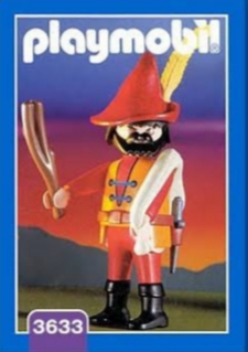 Playmobil 3633 - Highwayman - Box
