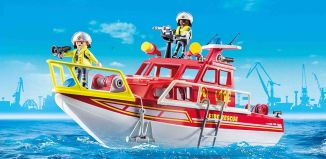Playmobil - 70147 - Fire Rescue Boat