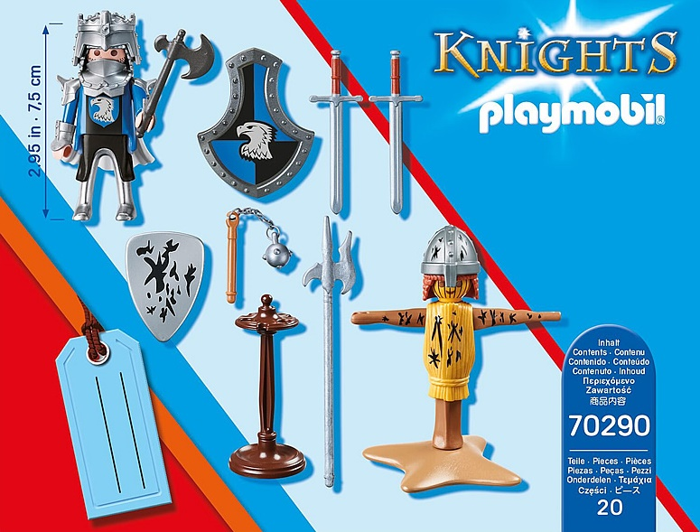 Playmobil 70290 - GiftSet Knight - Back