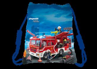 Playmobil - 80409 - Playmobil Sporttasche Feuerwehr