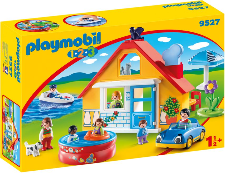 Playmobil 9527 - Holiday Home - Box