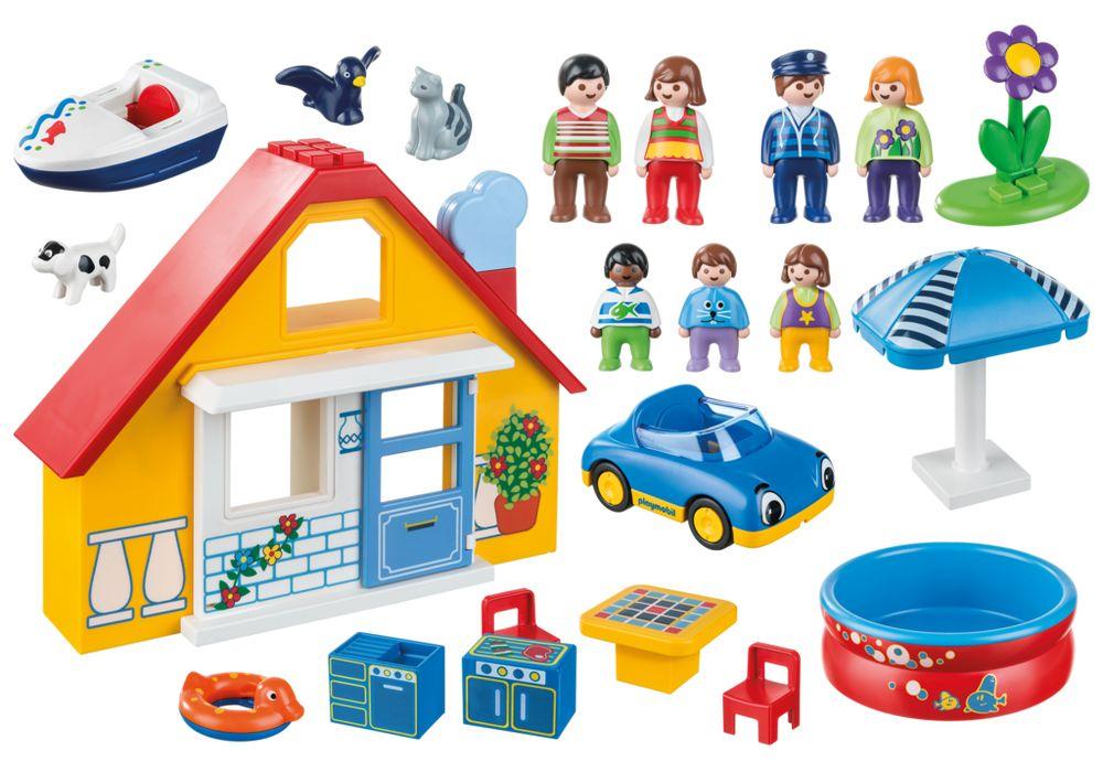Playmobil 9527 - Holiday Home - Back