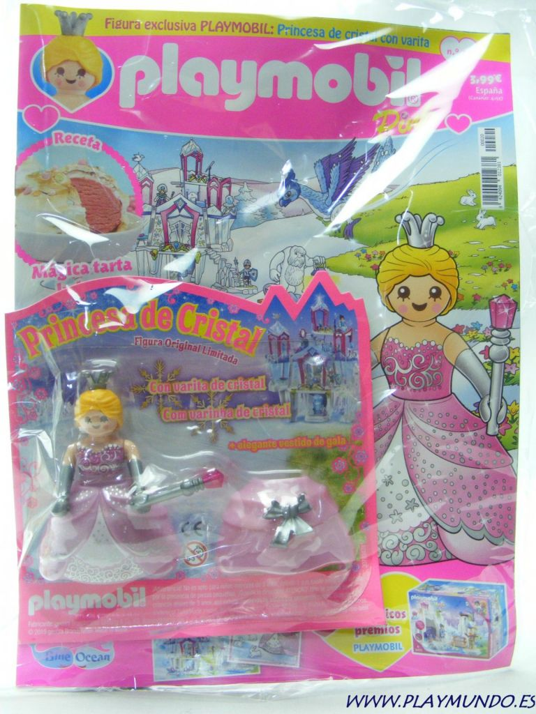 Playmobil PLAYMOBIL PANNINI 01 ROSA -  Crystal princess - Box