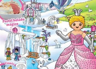 Playmobil - PLAYMOBIL PANNINI 01 ROSA -  Crystal princess