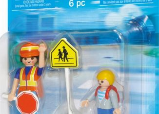 Playmobil - 5939 - Crossing guard and child