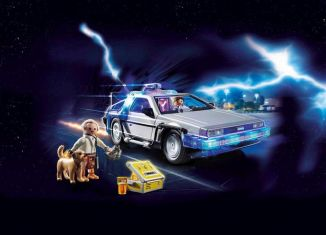 Playmobil - 70317 - Back to the Future DeLorean
