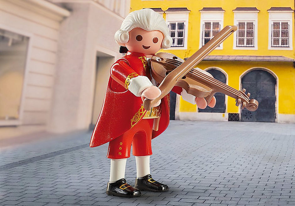 Playmobil 70374 - Mozart - Back