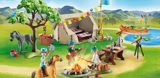 Playmobil - 70329 - Summer Campground