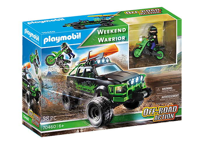 Playmobil 70460 - Weekend Warrior - Box