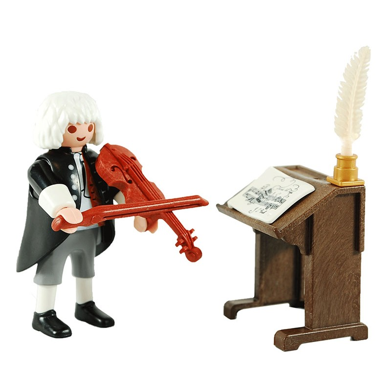 Playmobil 70135-ger - J.S. Bach - Back
