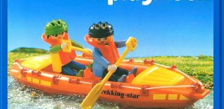 Playmobil - 3776 - Fast Water Canoe