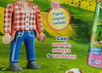 Playmobil - PINK Nº 23 30794264 - Peasant