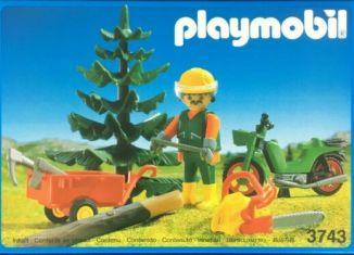 Playmobil - 3743 - Lumberjack