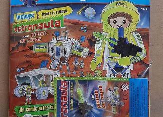 Playmobil - PANNINI 03 AZUL - Astronaut