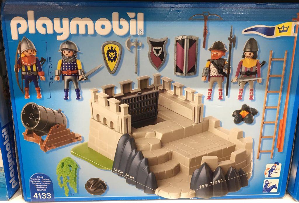 Playmobil 4133 - SuperSet Castle - Back