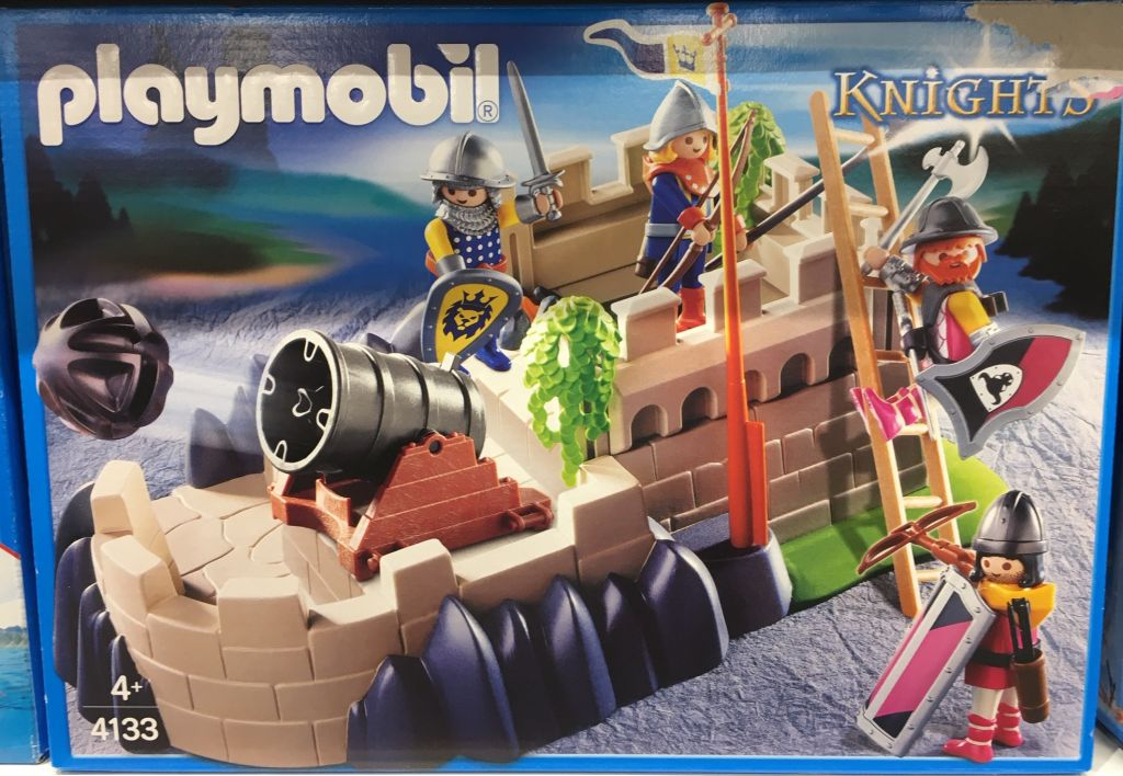 Playmobil 4133 - SuperSet Castle - Box