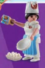 Playmobil - 70243v1 - Female Pastry Chef