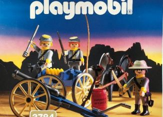 Playmobil - 3784 - Confederate Artillery