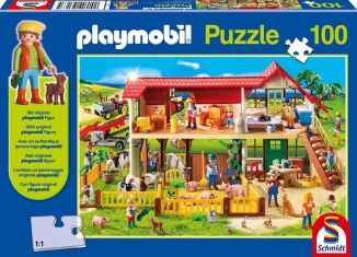 Playmobil - 56163 - Puzzle Farm