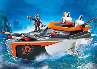 Playmobil - 70002 - SPY TEAM Turbo Ship