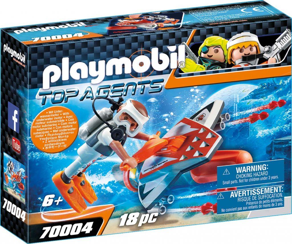 Playmobil 70004 - SPY TEAM Underwater Wing - Box