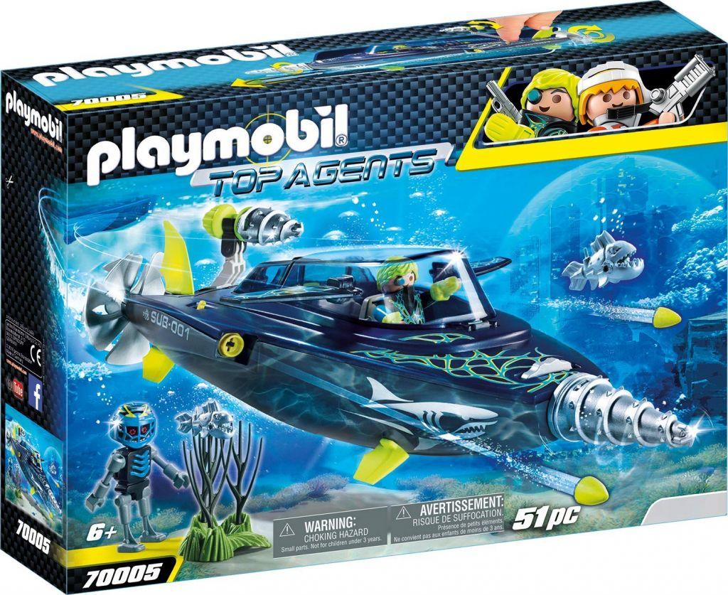Playmobil 70005 - TEAM S.H.A.R.K. Drill Destroyer - Box