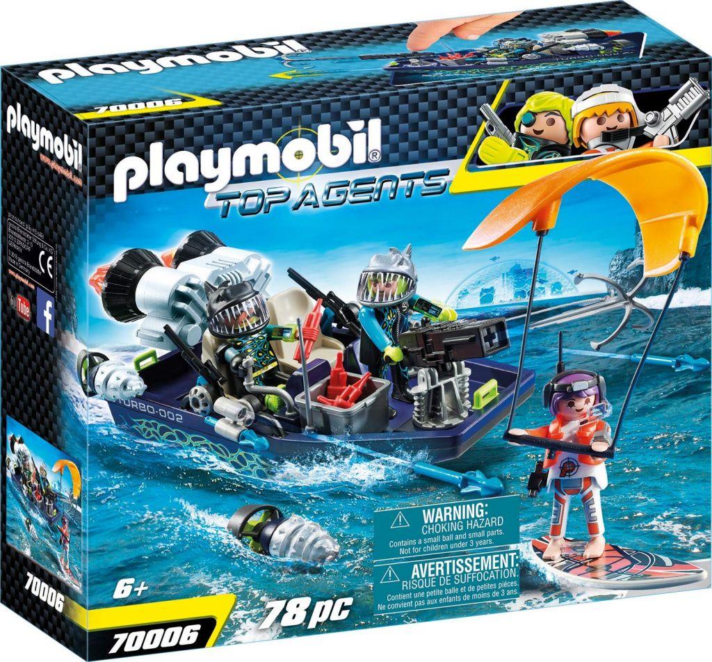 Playmobil 70006 - TEAM S.H.A.R.K. Harpoon Craft - Box