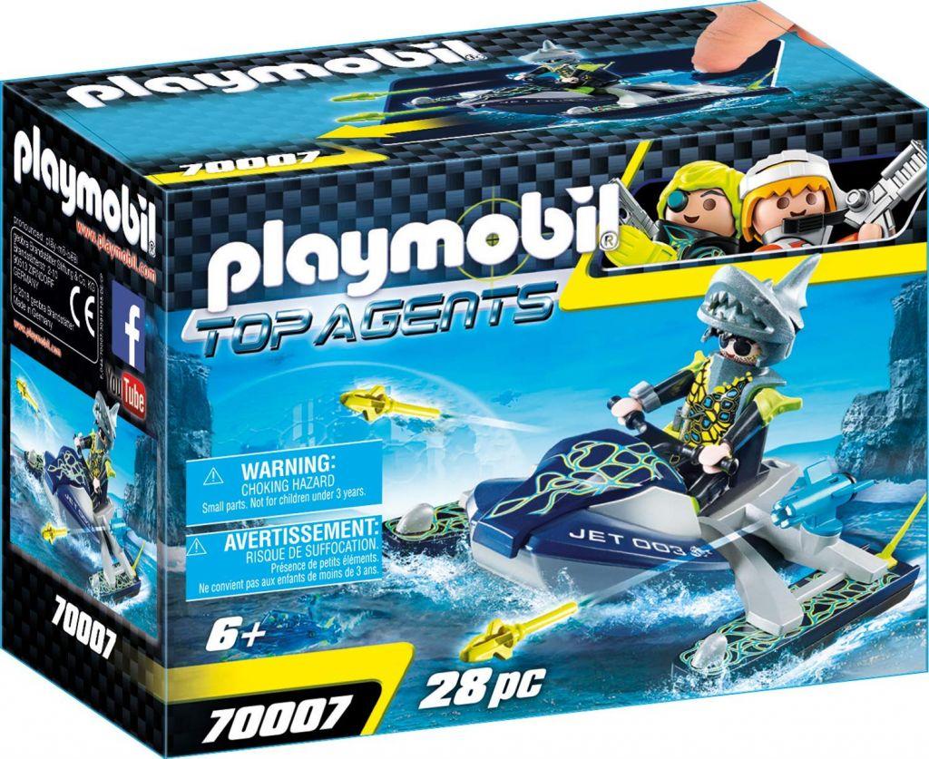 Playmobil 70007 - Moto acuática Equipo S.H.A.R.K. - Caja