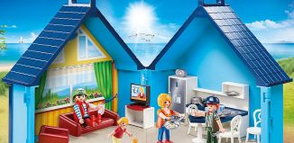 Playmobil - 70219 - PLAYMOBIL-FunPark Summerhouse Playbox