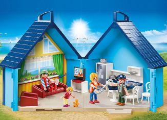 Playmobil - 70219 - PLAYMOBIL-FunPark Summerhouse Playbox