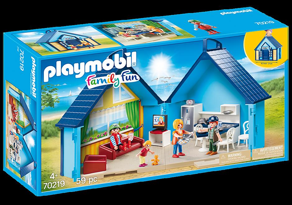Playmobil 70219 - PLAYMOBIL-FunPark Summerhouse Playbox - Box