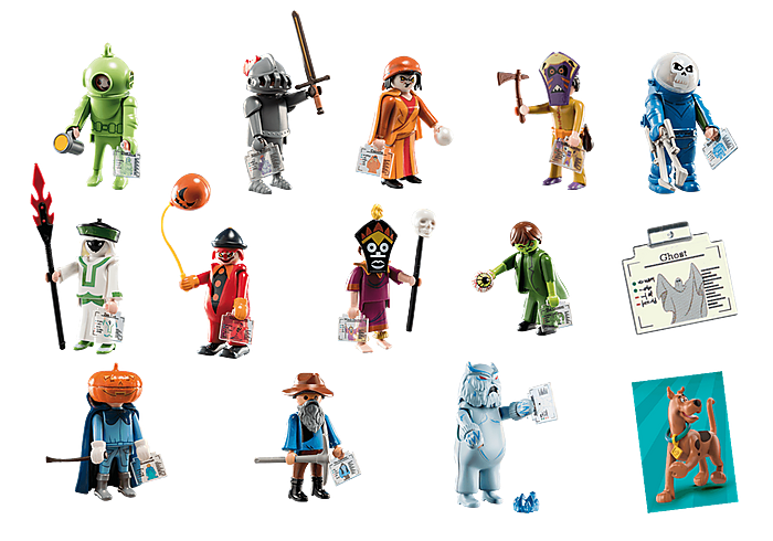 Playmobil 70288 - SCOOBY-DOO! Mystery Figuras (Series 1) - Back