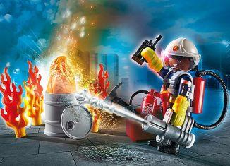"Playmobil - 70291 - Geschenkset ""Feuerwehr"""
