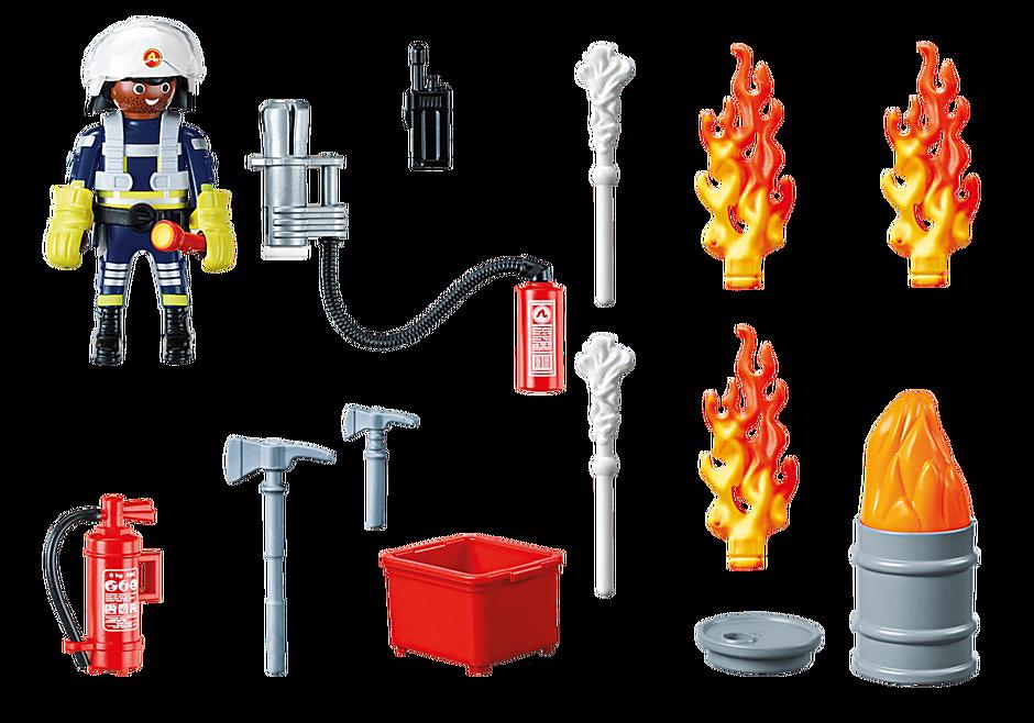 """Playmobil 70291 - Geschenkset """"Feuerwehr"""" - Volver"""