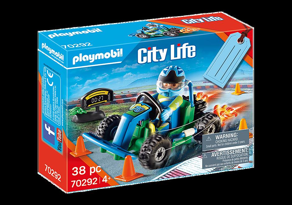 """Playmobil 70292 - Geschenkset """"Go Kart-Rennen"""" - Box"""
