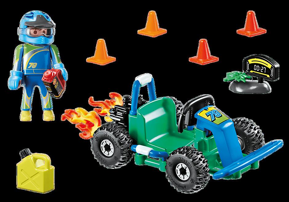 """Playmobil 70292 - Geschenkset """"Go Kart-Rennen"""" - Zurück"""