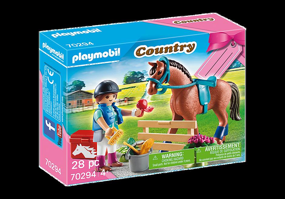 """Playmobil 70294 - Geschenkset """"Reiterhof"""" - Box"""