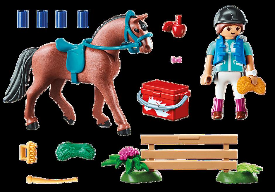 Playmobil 70294 - Set gift rider - Back