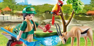 """Playmobil - 70295 - Geschenkset """"Zoo"""""""