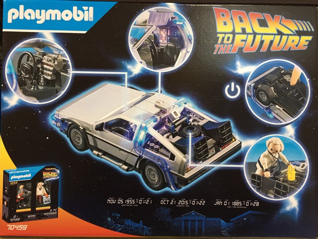 Playmobil 70317 - Back to the Future DeLorean - Back