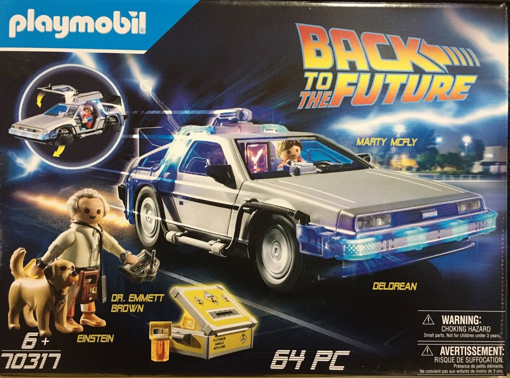 Playmobil 70317 - Back to the Future DeLorean - Box