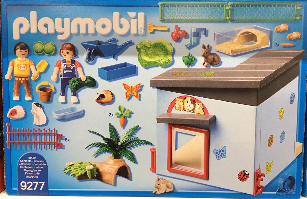 Playmobil 9277 - Small Animal Boarding - Back