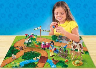 Playmobil - 9331 - Play Map Pony Tour